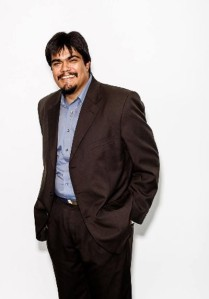 Michael J. Arvizu, CCNMA: Latino Journalists of California student representative.